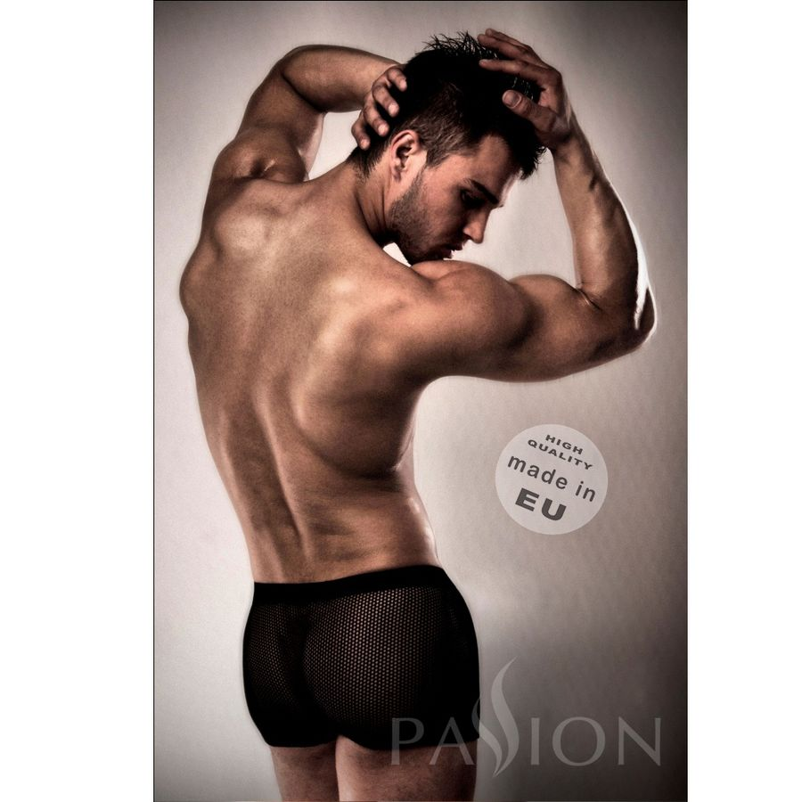 PASSION 004 MEN RED LINGERIE BLACK L/XL