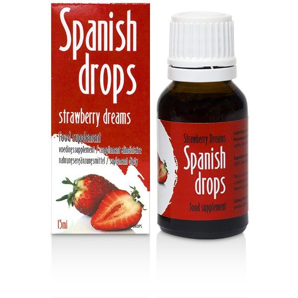 SPANISH FLY STRAWBERRY DREAMS GOTAS ESTIMULANTES