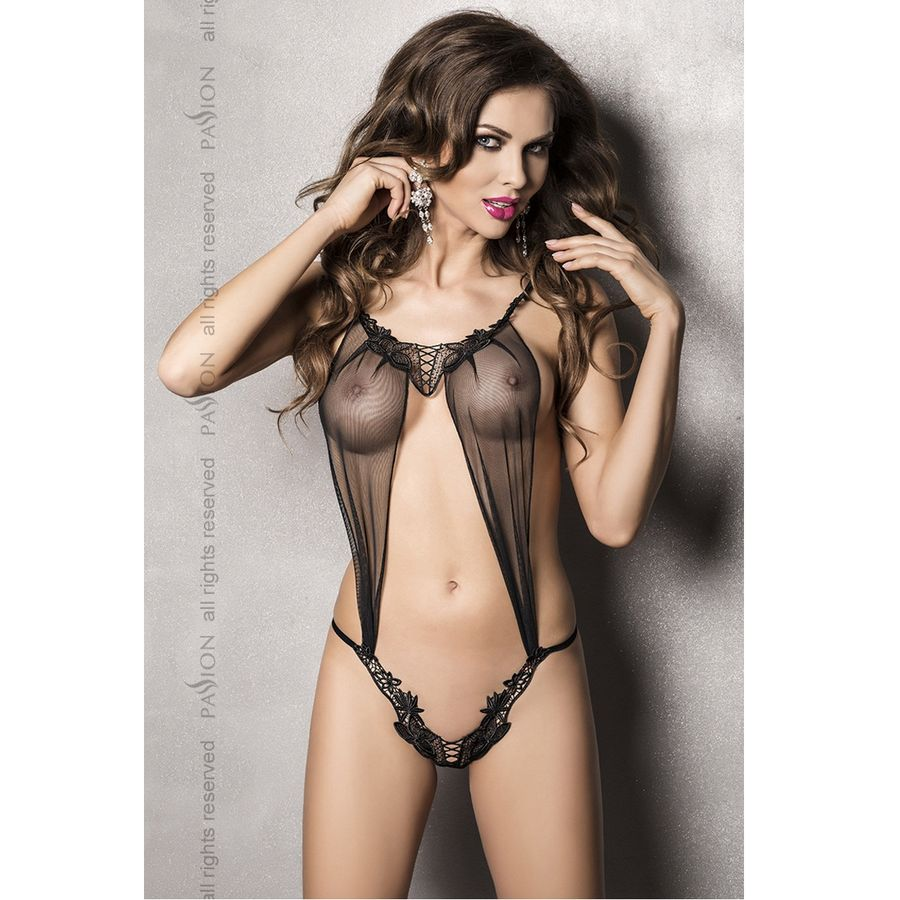 ATHENA BODY TEDDY NEGRO BY PASSION S/M